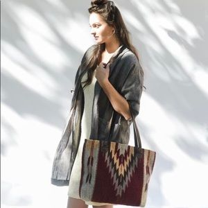 Ochre + Ash Oaxaca Handwoven Tote Bag